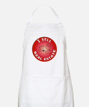I SELL Real Estate Circle- BBQ Apron