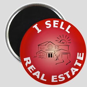 I SELL Real Estate Circle- Magnet
