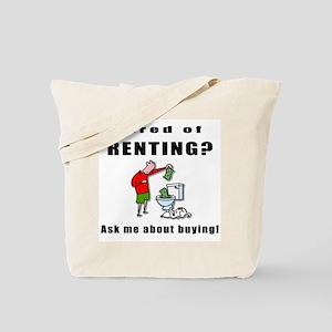 RENTING? Tote Bag