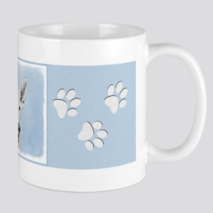White Shepherd 11 oz Ceramic Mug