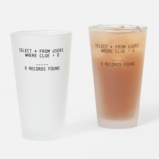 DBA's Dilemma Drinking Glass