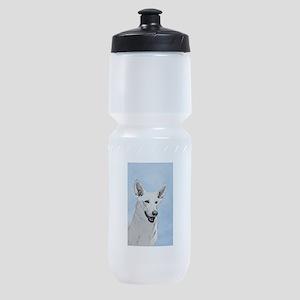 White Shepherd Sports Bottle