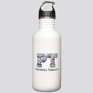 PT Camo Gray Stainless Water Bottle 1.0L