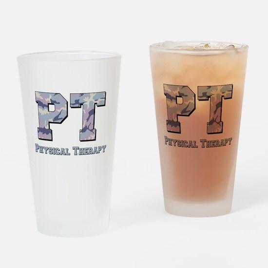 PT Camo Gray Drinking Glass