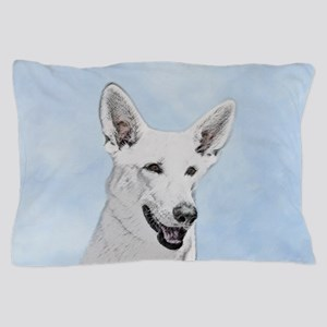 White Shepherd Pillow Case