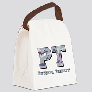 PT Camo Gray Canvas Lunch Bag