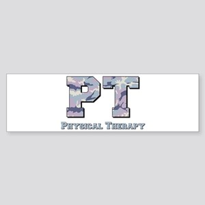 PT Camo Gray Sticker (Bumper)