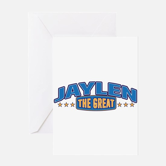The Great Jaylen Greeting Card