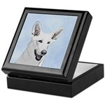 White Shepherd Keepsake Box