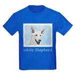 White Shepherd Kids Dark T-Shirt