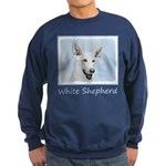 White Shepherd Sweatshirt (dark)