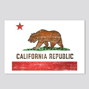 Vintage California Flag Postcards (Package of 8)
