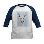 White Shepherd Kids Baseball Tee
