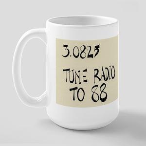 """John Cage """"Water Music No. 4"""" Large Mug"""