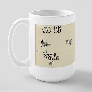 """John Cage """"Water Music No. 3"""" Large Mug"""