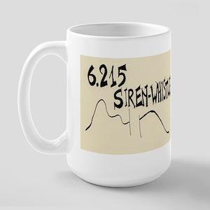 """John Cage """"Water Music No. 1"""" Large Mug"""