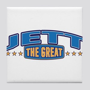 The Great Jett Tile Coaster