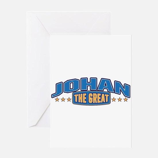 The Great Johan Greeting Card