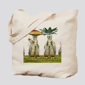 Lovable Vegetables - Waving Tote Bag