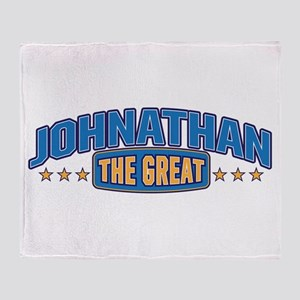 The Great Johnathan Throw Blanket