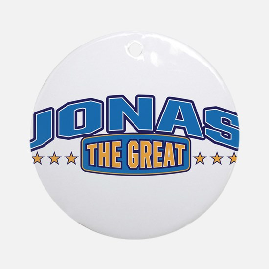 The Great Jonas Ornament (Round)
