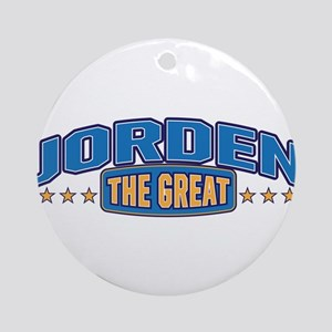 The Great Jorden Ornament (Round)