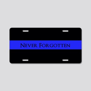 Police Never Forgotton Aluminum License Plate