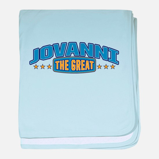 The Great Jovanni baby blanket