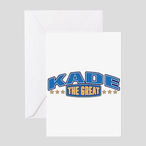 The Great Kade Greeting Card