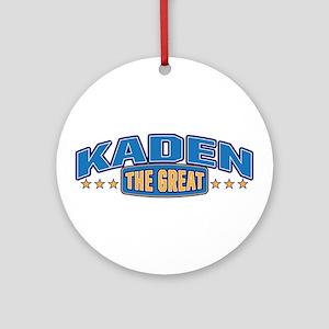 The Great Kaden Ornament (Round)