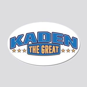 The Great Kaden Wall Decal