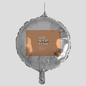 Orange- Walk MS Balloon