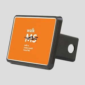 Orange- Walk MS Hitch Cover