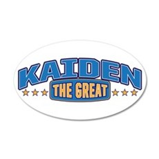 The Great Kaiden Wall Decal