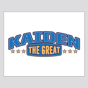 The Great Kaiden Posters