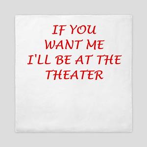 theater Queen Duvet