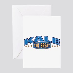 The Great Kale Greeting Card