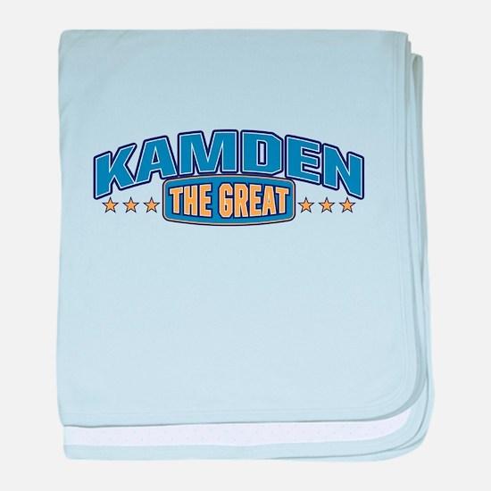 The Great Kamden baby blanket