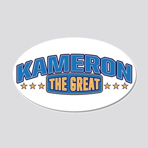 The Great Kameron Wall Decal