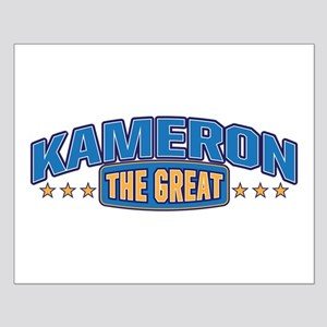 The Great Kameron Posters