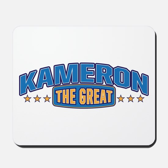 The Great Kameron Mousepad