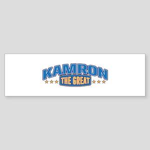 The Great Kamron Bumper Sticker