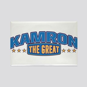 The Great Kamron Rectangle Magnet