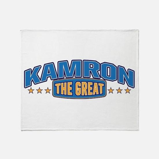 The Great Kamron Throw Blanket