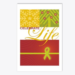 Celebrate Life Holiday Collection Postcards (Packa