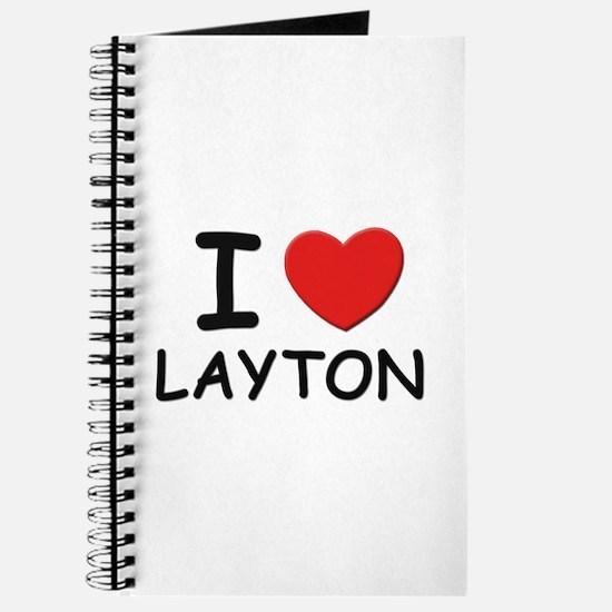 I love Layton Journal