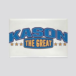 The Great Kason Rectangle Magnet