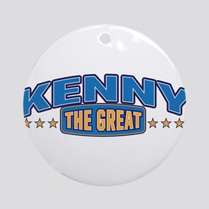 The Great Kenny Ornament (Round)