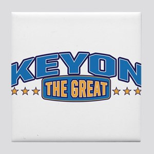 The Great Keyon Tile Coaster