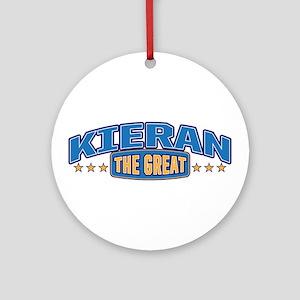 The Great Kieran Ornament (Round)